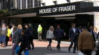 House of Fraser in Birmingham