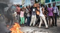 Abitabye imyigaragambyo yo gushyigikira Martin Fayulu i Kinshasa itariki 21/01/2019