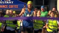 Ben Smith crosses the finish line