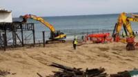 Pier dismantling