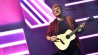 Ed Sheeran at Glastonbury