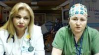 Лариса и Галина работают врачами в больнице в Бруклине