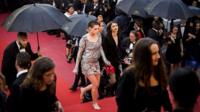 Kristen Stewart ditches her high heels
