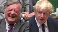Ken Clarke and Boris Johnson