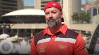 Canadian combat veteran Nic Meunier discusses the importance of sport in treating his PTSD. He has participated in multiple events at the Invictus Games.