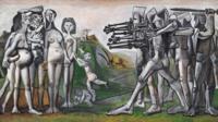 毕加索作品《格尔尼卡》