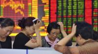 Concerned investors in China