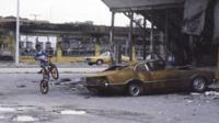 Damage caused by Miami riots
