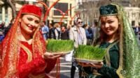 Two women celebrating Nowruz