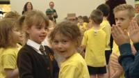 Primary School children in Carlisle