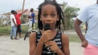 Girl in Barbuda