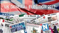 UK General Election 2017 EU press reaction