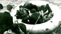 RAF crew on boat