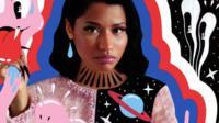 Magazine cover of Nicki Minaj by Hattie Stewart