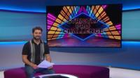 Ricky in the Newsround studio