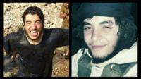 Belgian jihadi fighters Anis and Abdulmalik