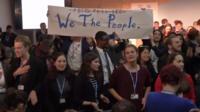 Bonn climate protest