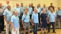 Flintshire's Mold Barbershop Harmony Society, which sings as The Clwyd Clippers