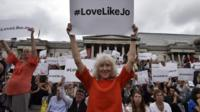 People celebrate Jo Cox's life