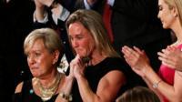 Carryn Owens, the widow of fallen Navy Seal, Ryan Owens