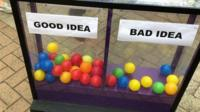 Daily Politics mood box and balls