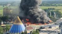 Europa-Park fire