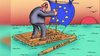Cartoonists across the world have turned their attention to Brexit