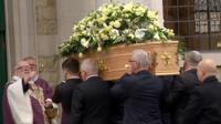 Grace Millane's funeral in Brentwood