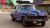 DeSoto Powermaster Classic car in Syria