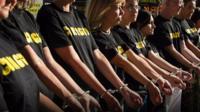 Turkish arrests protest