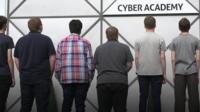 Young people attending the Cyber Academy