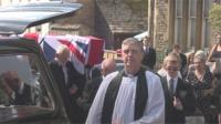 Raymond Burrows funeral