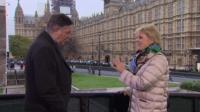 Simon McCoy and Anna Soubry