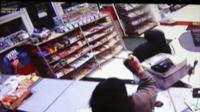 CCTV image of the attempted robbery
