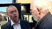 Tim Farron answers man's question