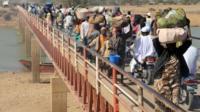 Des réfugiés en territoire tchadien (photo d'archives)
