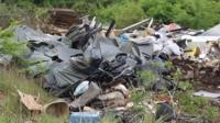 Fly-tipping in Basildon