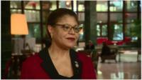 Congresswoman Karen Bass talks about Cuba visit and Brussels attacks.