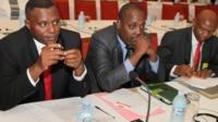 Delegates in Uganda