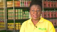 Skincare entrepreneur Israella Kafui-Mansu