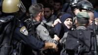 Woman arrested near al-Aqsa mosque