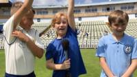 We asked these young cricket fans at Edgbaston cricket ground if they could tell us what these cricket terms meant.