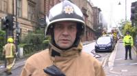 Scottish Fire and Rescue's Peter Heath