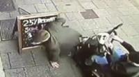 Mobility Scooter crash
