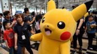 Pokemon Go character