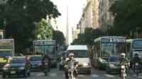 Buenos Aires traffic