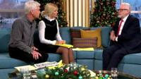 Philip Schofield, Holly Willoughby and Jeremy Corbyn