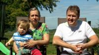 Chris Jarvis with his family