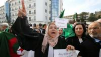 Anti-government protests in Algeria
