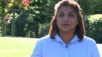 Linda, who runs a domestic violence charity